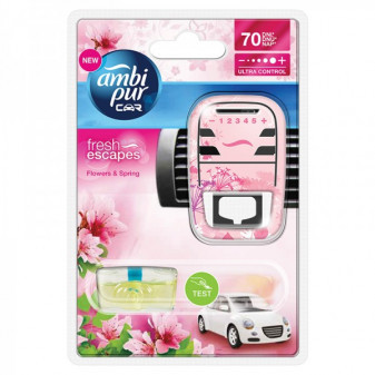 Ambi Pur car Flowers & Spring 7ml + strojek