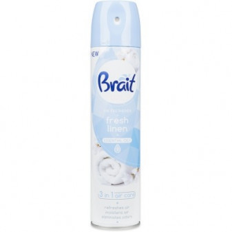 Osvěžovač Brait Fresh Linen 300ml